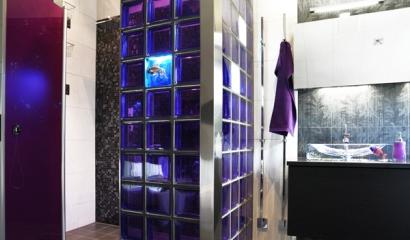 Glasblock i duschen från INR
