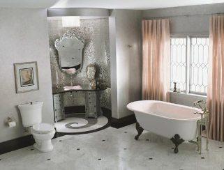 Ett glamoröst retro bad från Kohler