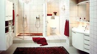 Badrummet kommer från Svedbergs och heter Milanova