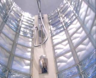 Dusch i glasblock från Vetro