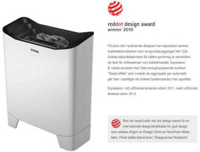 TYLÖ red dot award priset